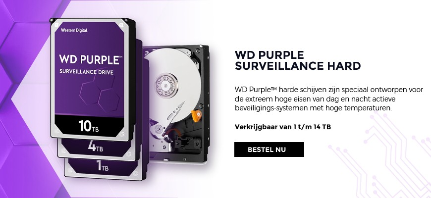 Western Digital Purple - Surveillance